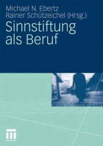 Buchcover: Sinnstiftung als Beruf
