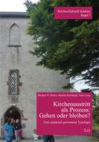 """Buchcover: """"Kirchenaustritt als Prozess: Gehen oder bleiben?"""""""