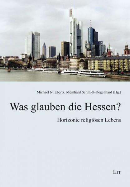 Buchcover: Was glauben die Hessen?