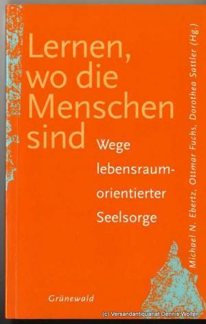 Buchcover: Lernen, wo die Menschen sind