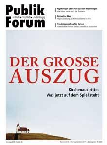 """Cover: Publik Forum: """"Der große Auszug"""""""