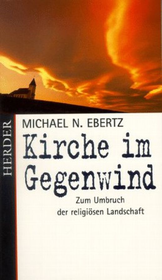 Buchcover: Michael N. Ebertz: Kirche im Gegenwind