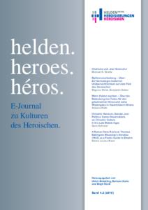 Buchcover: helden. heroes. héros.